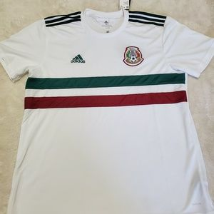 BQ4689 Adidas Mexico Away Soccer Jersey